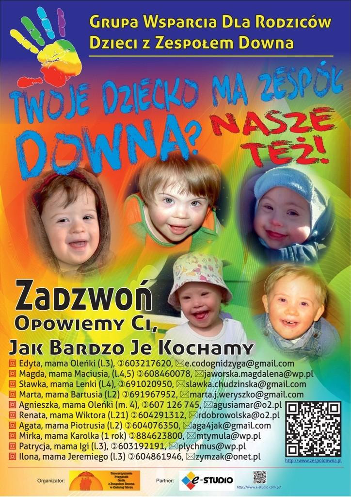 Plakat grupa wsparcia